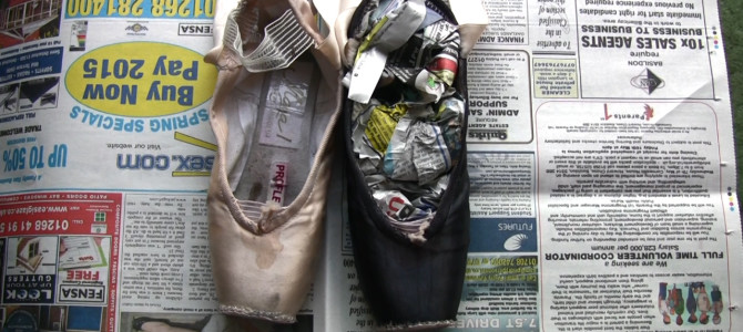 How to dye pointe shoes