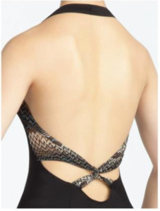 Capezio Front Pleat Leotard