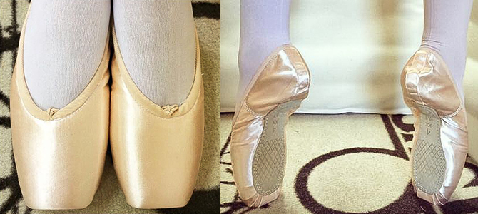 Pointe Shoe Fitting Photos Gallery