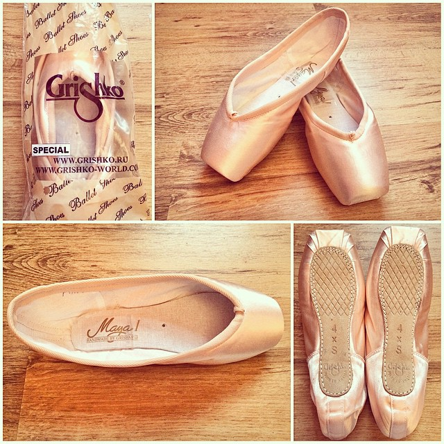 how to break in grishko pointe shoes