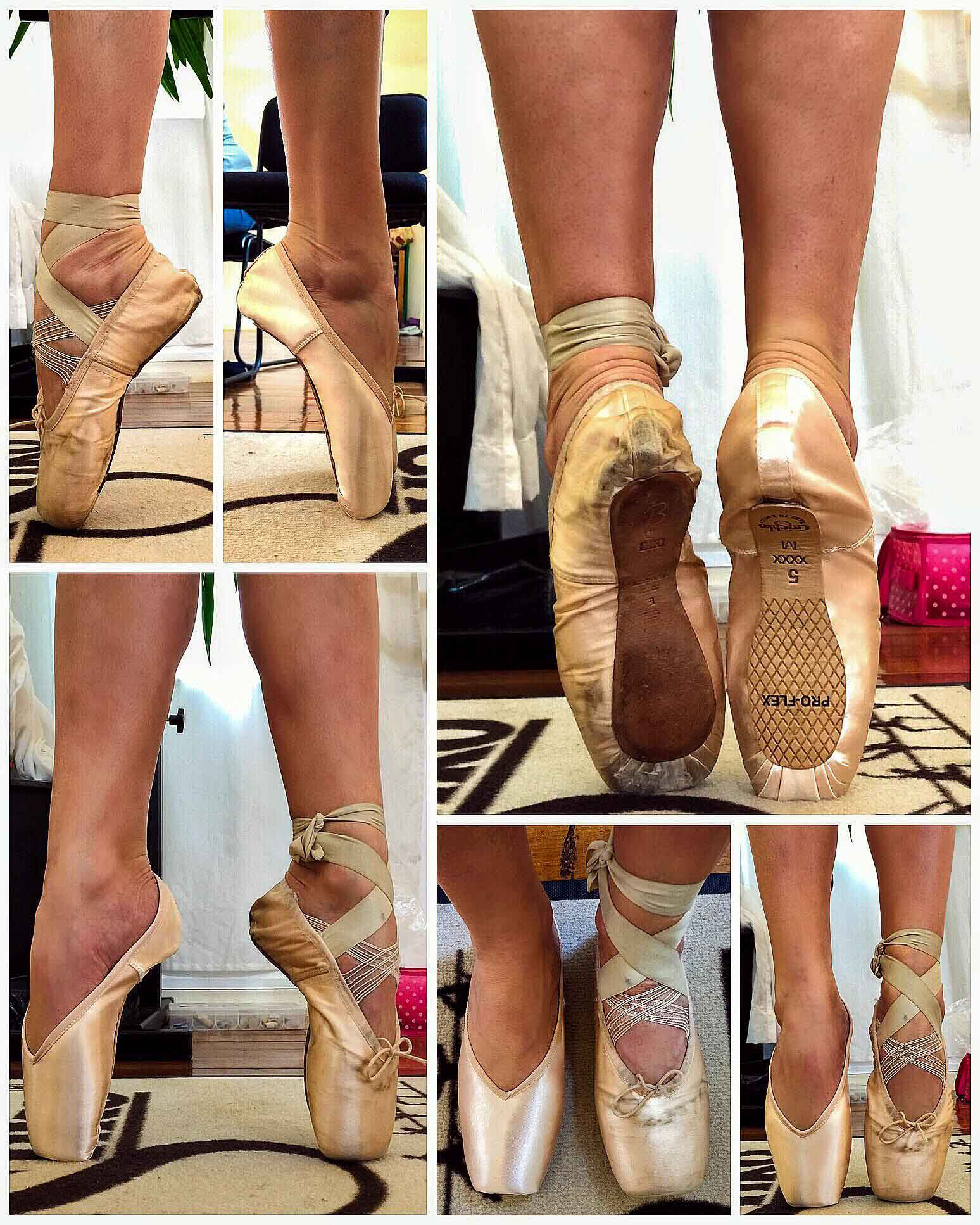 Pointe Shoe Fitting Photos Straight To The Pointe