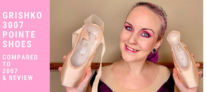 Grishko 3007 Pointe Shoes Review Video! Also Known As Nikolay 3007 (UK stockist!)