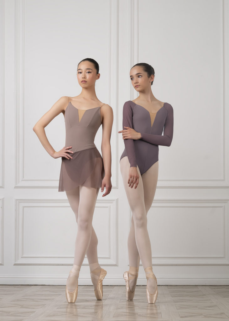 DA1931M LEOTARD WITH LONG SLEEVE grishko bolshoi the senses leotard