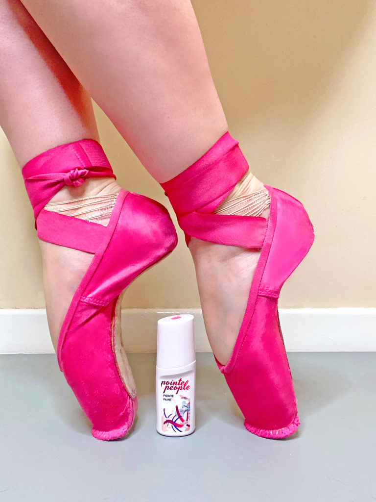 Pointe shoe dye pointepeople pointe paint dyeing pointe shoes tutorial video how to grishko nikolay