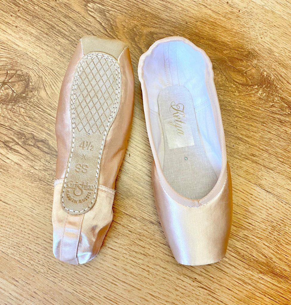 grishko katya in satin nikolay katya satin pointe shoes