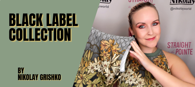 Nikolay Grishko Black Label Collection (Exclusive Limited Edition Leotards From Russia!)