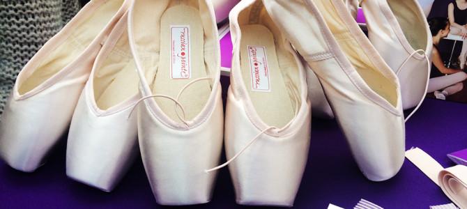 Russian Pointe shoes review plus comparison to Grishko