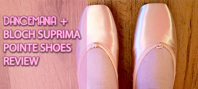 dancemania review – Bloch Suprima Pointe Ballet Shoes and Mirella Whisper Pointe Shoes